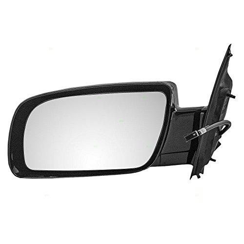 Mirror Van Astro (Drivers Power Side View Below Eyeline Mirror Smooth Replacement for Chevrolet GMC Van 15757375)