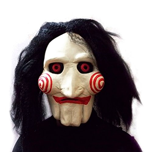 Terror Masquerade Halloween Decor Party Supplies Costume Cosplay Horror Mask as pic OneSize -