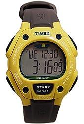 Timex Men's Ironman 30-Lap Digital Yellow Resin Watch T5K684