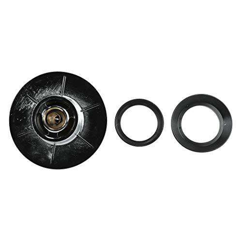 DANCO Bathtub EZ Drain Cover, Chrome, 1-Pack (10528)