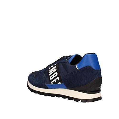 Bikkembergs Bke109095 Sneaker Uomo Blue bluette