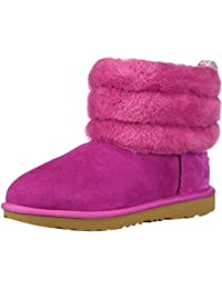 Kids Fluff Mini Quilted Boot
