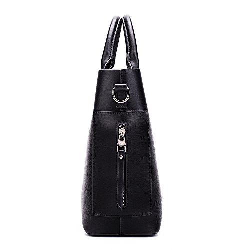 Purses bags Women Designer Hobo Handbags bag Bags 1 Bucket Shoulder Black Tote Women's Handbag Leather work xIqOwRqa