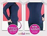 isABelt CLEAR BELT Invisible Belt | Skinny Belt