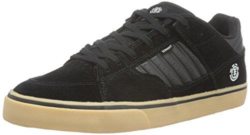 Element Element Glt2 Herren Sneakers - Zapatillas Hombre Negro - Schwarz (4298 Black Gum)