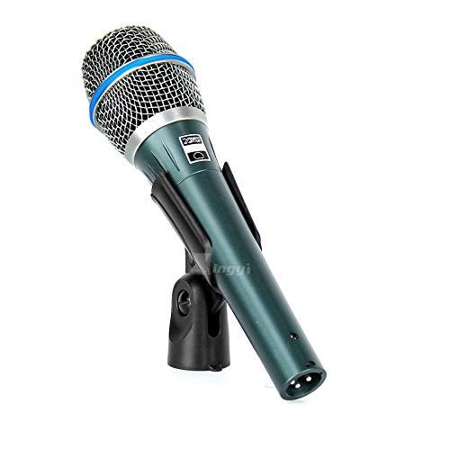 (HATCHMATIC BETA 87A Vocal Wired Mic Dynamic Karaoke Microphone Professional Studio Computer Singing BETA 87 Audio Mixer Bar Club KTV Party: XINGYI STAR)