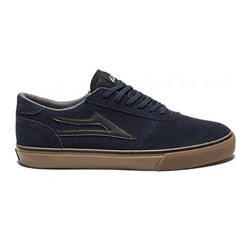 Lakai Manchester navy/Gum Suede scarpe da skateboard/sneaker