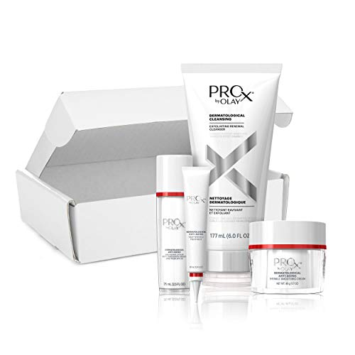 Day + Night Face Protocol Kit by Olay Pro-X, Gift Set for Women, Dermatologist-Designed, 12 years younger in 4 weeks from Olay