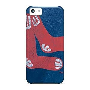 New HlT2318lNRK Boston Red Sox Skin Case Cover Shatterproof Case For Iphone 5c
