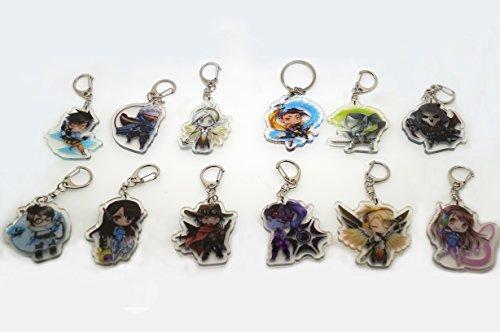 Overwatch Cute Key Chain (Mercy-1) Photo #2