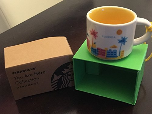 Starbucks You Are Here  Collection Florida 2 Oz. Ornament