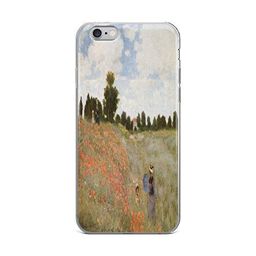 (Claude Monet's Coquelicots, La Promnade (Poppies) 0043 - iPhone 6 Plus/6s Plus Phone Case)