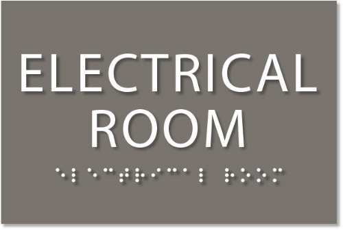 Electrical Room Sign - ADA compliant sign. 6