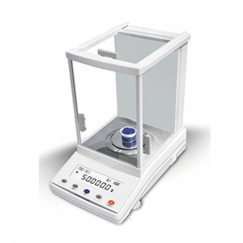 JoanLab Digital Analytical Balance Precision Scale 210g x 0.1mg (0.0001g) - 1 Year Warranty, Laboratory Precision Balance, Digital Lab Scale