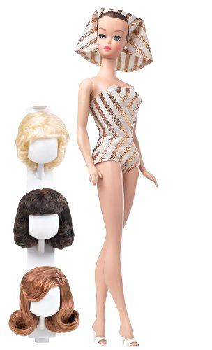 Barbie Collector My Favorite Barbie - Barbie and Her Wig Wardrobe - Adult Barbie Wig