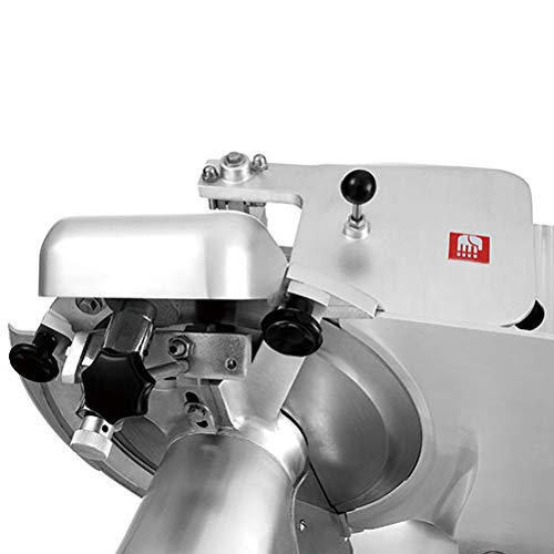 Frozen Meat Food KWS MS-14A Floor Model Automatic Commercial 5000W Electric Meat Slicer 14 Stainless Steel Blade Deli Slicer//Low Noises