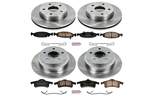 (Autospecialty KOE2148 1-Click OE Replacement Brake Kit)