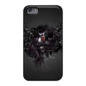 LeoSwiech Apple Iphone 6 High Quality Hard Phone Covers Support Personal Customs Trendy Venom Pictures [noh25056SLwf]