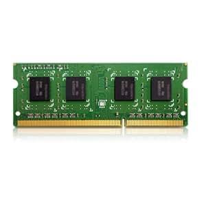 QNAP RAM-4GDR3L-SO-1600 módulo de - Memoria (4 GB, DDR3, 1600 MHz, Verde, QNAP TS-x51)