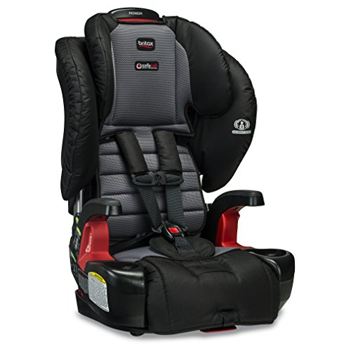 Britax Pioneer Combination Harness-2-Booster Car Seat - 2 Layer Impact Protection - 25 to 110 pounds, Ashton