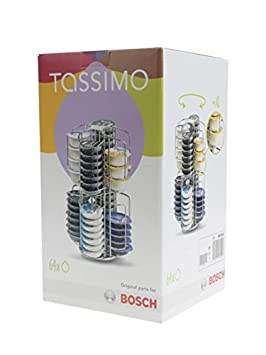 Tassimo – Dispensador de cápsulas giratorio para 64 T-Discs