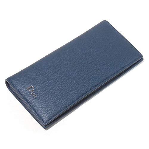 ディオール メン 長財布 ブルーミネラル グレインドカーフレザー 2DSBC002TAB H09B Dior Homme ディオール オム B07PZVZHB5