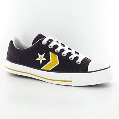 ef39cdb298eb Converse Star Player Ev Ox Purple Mens Trainers  Amazon.co.uk  Shoes   Bags