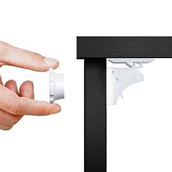 Magnetschloss Set Kindersicherung unsichtbar Schrankschloss für Baby