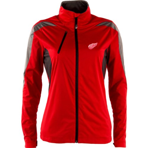 ANTIGUA DETROIT RED WINGS WOMEN'S DISCOVER JACKET EXTRA (Antigua Detroit Red Wings Jacket)