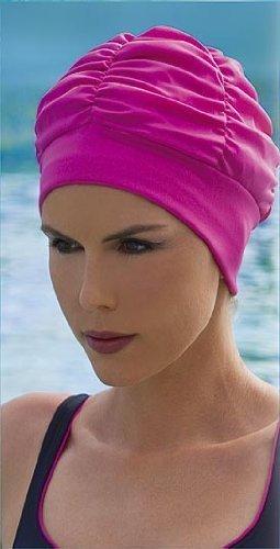 水泳帽子入浴Ladiesキャップby Fashyターバンスタイルピンク B00ALITPUC B00ALITPUC, ラケットプラザ:c036b6a4 --- lindauprogress.se