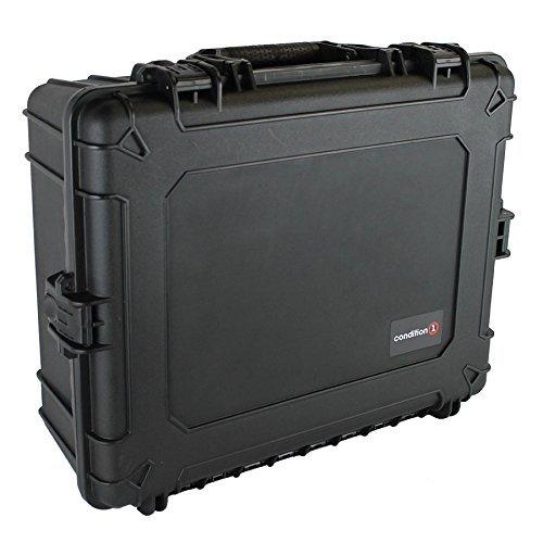 コンディション 1 25インチ XL #839 ブラック 防水トランク DIY カスタマイズ可能なフォーム付き (リニューアル) B07RBF8QB9