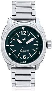 ساعة فاست تراك هيز اند هير الترا انالوج بمينا اخضر للرجال - 3076SM04