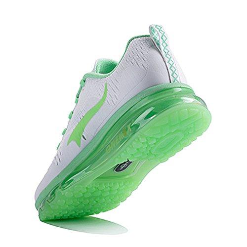 Onemix Cuscino Daria Sportivo Scarpe Da Corsa Per Uomo E Donna New Wave Casual Da Passeggio Sneaker Verde Chiaro