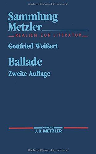 Ballade  Sammlung Metzler