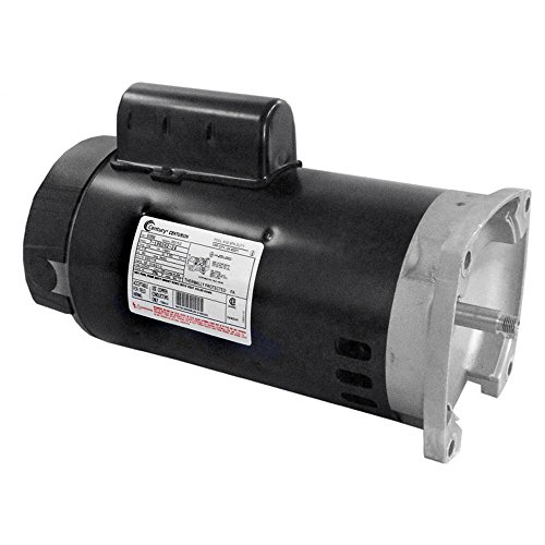 Square Flange Full Rate Motor - AO Smith/Century Electric PSC, Full Rate, Single-Speed, Switchless, 1.5HP, 3450RPM, 230/115V, 10.5/21.0 AMPS, 1.5SERVICE Factor, Square Flange