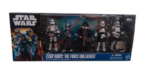 Hasbro Star Wars 2011 The Force Unleased 2 Exclusive Battle Pack Sith Imperial Troopers -