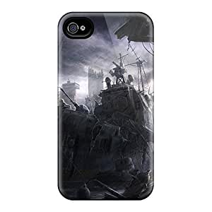 New Premium Kristhnson Derelict Warship Skin Case Cover Excellent Fitted For Iphone 4/4s