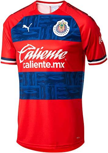 PUMA Mens Chivas 2019-20 Fitness Performance T-Shirt