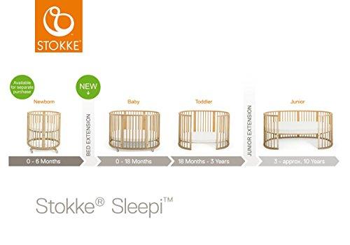Stokke Sleepi Junior Extension, White
