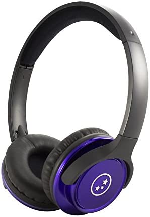 Able Planet SH180PRM Musicians Choice Stereo On-Ear Headphones Metallic Purple