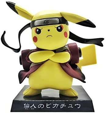 JTWJ Pokémon Ninja Pikachu Estilo Anime Hecho a Mano ...