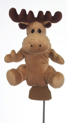 Puffy Moose Golf Head Cover 460cc Plush Soft Nice Gift, Outdoor Stuffs
