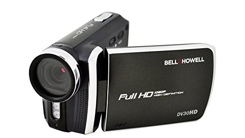 Bell+Howell DV30HD-BK HD Video Camera with 3'' Touchscreen (Black) by Bell & Howell
