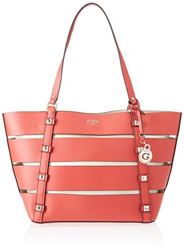 Guess Bags Hobo, Sacs portés épaule femme, Multicolore (White Multi), 16x26x44 cm (W x H L) Multicolore (Lipstick)
