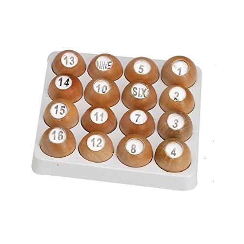 Pro Series Wooden Tally Balls