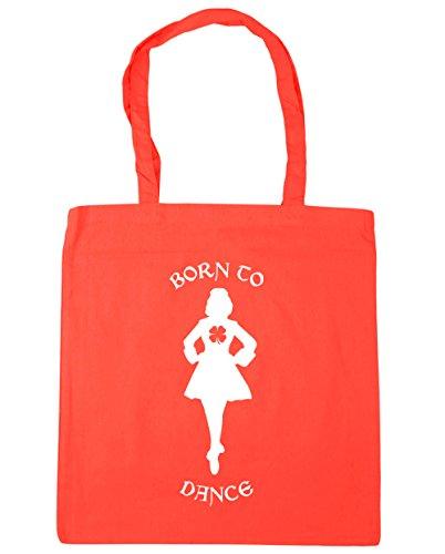 Tote Gym litres to HippoWarehouse Shopping Coral x38cm 42cm 10 Dance Beach Irish Bag Born 6FZ6YwI