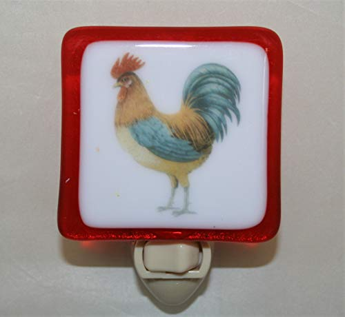 Rooster Night Light (Made in (Rooster Light Fixtures)