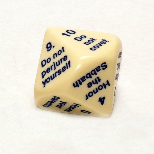 新品 Ten d10 Commandments Dice, 25mm d10 B00TT8D0SI by Koplow Games [並行輸入品] Koplow B00TT8D0SI, ドレスSHOP グルービー:178cbd07 --- egreensolutions.ca
