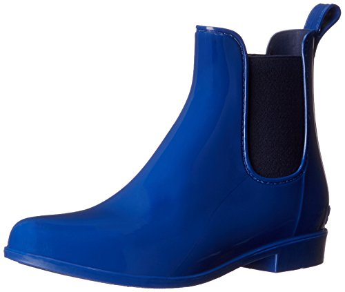 Women's Tally Rain Shoe, Summer Blue/Modern Navy Solid PVC/Elastic, 5 B US (Ralph Lauren Rain Boots)