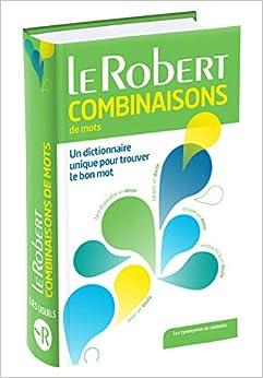Dictionnaire Des Combinaisons De Mots Epub Descargar Gratis